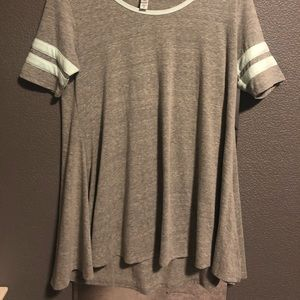 Lularoe gray tunic